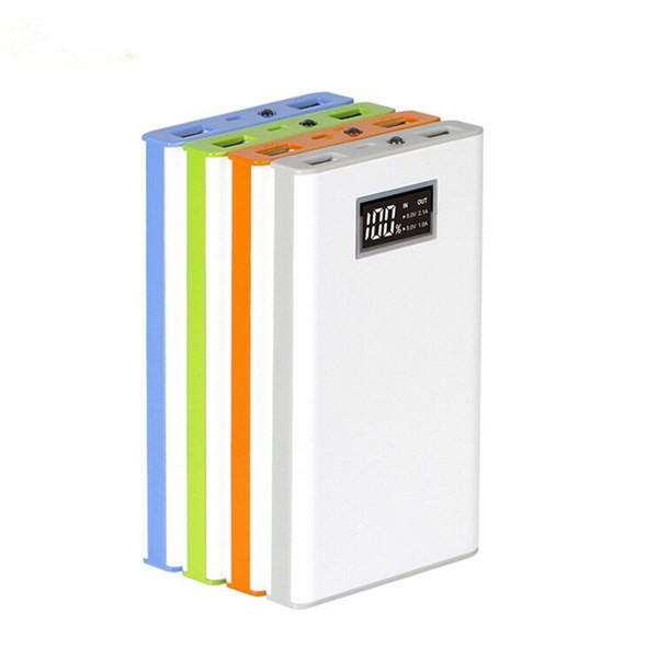11000mAh Intelligent LCD Dual USB Power Bank For Mobile Phone Power Banks