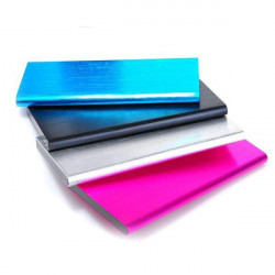 12000mAh 10mm Ultratunn Book Style Litiumbatteri PowerBank