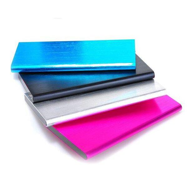 12000mAh 10mm Ultra Thin Buch Art Lithium Batterieleistung Bank PowerBank