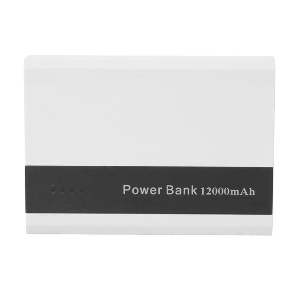12000mAh High Capacity Universal Portable PowerBank Reseladdare PowerBank / Nödladdare