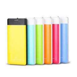 12000mAh Ultratunn Polymer Dual Output PowerBank till Mobiltelefon