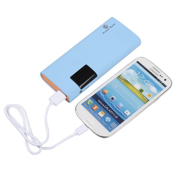 13000mAh Intelligent LCD Portable Power Bank For Mobile Phone Power Banks