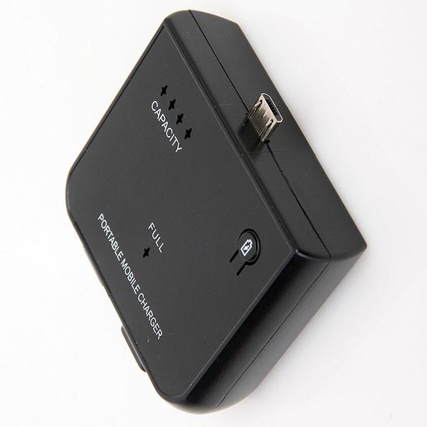 1500mAh Portable Oplader PowerBank for Blackberry Torch 9800 9700 PowerBank / Nødbatterier
