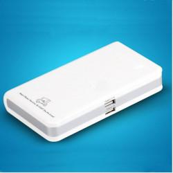 15600mAh Ekstern PowerBank Dual USB Batterioplader til Smartphone