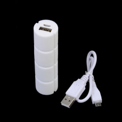 1800mAh Choklad Treasure Single Batteridrift Bank till Mobiltelefon