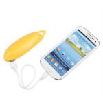 2200mAh Lomui Mini Bærbar Pepper Shape PowerBank til Mobiltelefon PowerBank / Nødbatterier