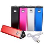 2600mAh Mini Bærbar Backup Oplader PowerBank til Mobiltelefon PowerBank / Nødbatterier