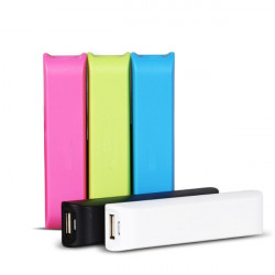2600mAh Portable External Battery Power Bank For Mobile Phone