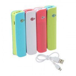 2600mAh PowerBank Portable Extenal Batterioplader til Mobiltelefon