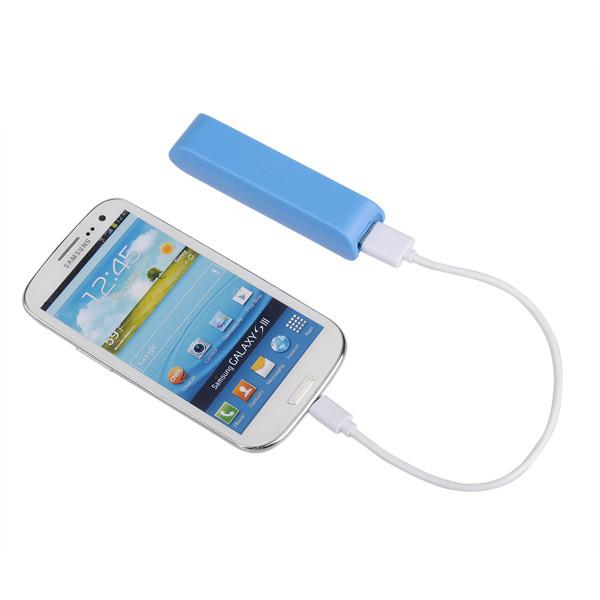 2600mAh Ekstern Batteripakke PowerBank til Mobiltelefon PowerBank / Nødbatterier