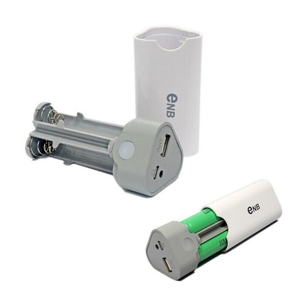 3x18650 Smart Energien Bank Kasten Kasten Shell mit Akku für Handy PowerBank