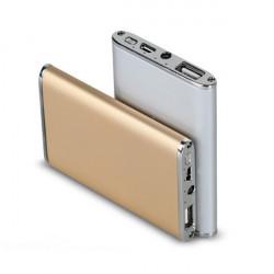 4800mAh Ultratunn Aluminium PowerBank till Mobiltelefon