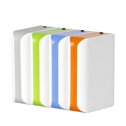 5200mAh Polymer Power Bank With LED Flashlight For Mobile Phone
