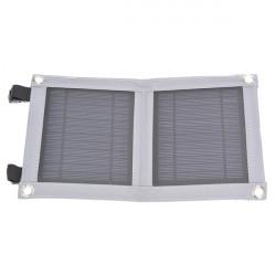 5W USB Folding Solar Panel Udendørs Portable Oplader til Mobiltelefon