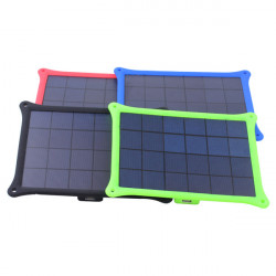 5W USB Outdoor Solar Panel Emergency Oplader til Mobiltelefon