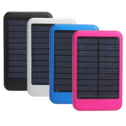 6000T 5000mAh Protable Laddare Mobile Solar Energy PowerBank