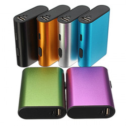 6000mAh Portable Ekstern Batteri USB Oplader PowerBank Cable