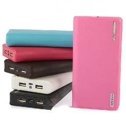 7200mAh Stor Plånbok Bil Mobile PowerBank till Mobiltelefon