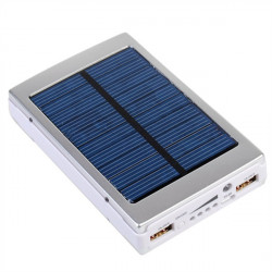 7500mAh Solar Charger Solar Power Bank For Mobile Phone