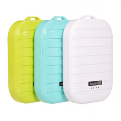 7800mAh Suitcase Design External Battery Power Bank For Mobile Phone