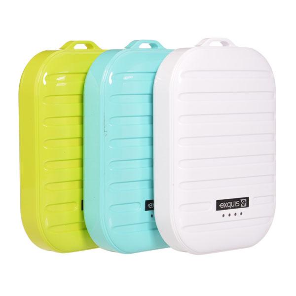 7800mAh Suitcase Design External Battery Power Bank For Mobile Phone Power Banks