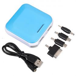 9000mAh Dual USB Oplader Portable PowerBank til Mobiltelefon