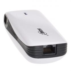 Hame A100 Bärbar 3G Wi-Fi-router Laddningsbara 5200mAh PowerBank