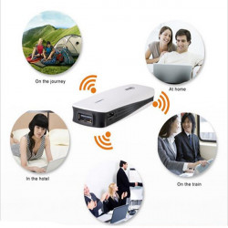 HAME A1 Portable 1800mAh Power Bank With 3G 150Mbps Wireless Wi-Fi