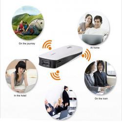 Hame A1 Portable 1800mAh PowerBank med 3G 150Mbps Trådløs Wi-Fi