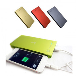 IWO P40 12000mAh External Backup Powers Power Bank for Mobile Phone