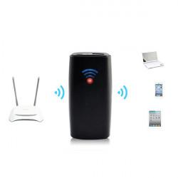 Multifunktionell Trådlös 3G Wifi Router PowerBank för Mobil