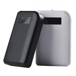 REMAX Ekstern LED 2 USB 10000mAh PowerBank til Mobiltelefon