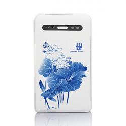 RIPA LS502 10000mAh Water Lily Portable PowerBank til Mobiltelefoner