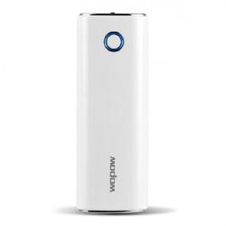 Wopow 10400mAh beweglicher externer Batterieleistung Bank mit USB Kabel