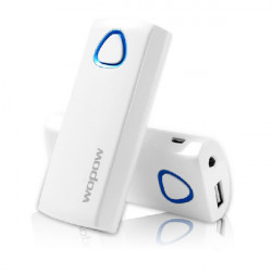 Wopow 5200mAh Portable External Batteri PowerBank med USB-kabel