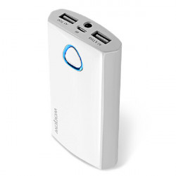 Wopow 7800mAh Dobbelt USB External Batteri PowerBank med USB-kabel