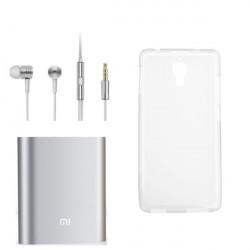 Xiaomi 10400mAh Energien Bank + xiaomi Kopfhörer + Kasten für xiaomi 4