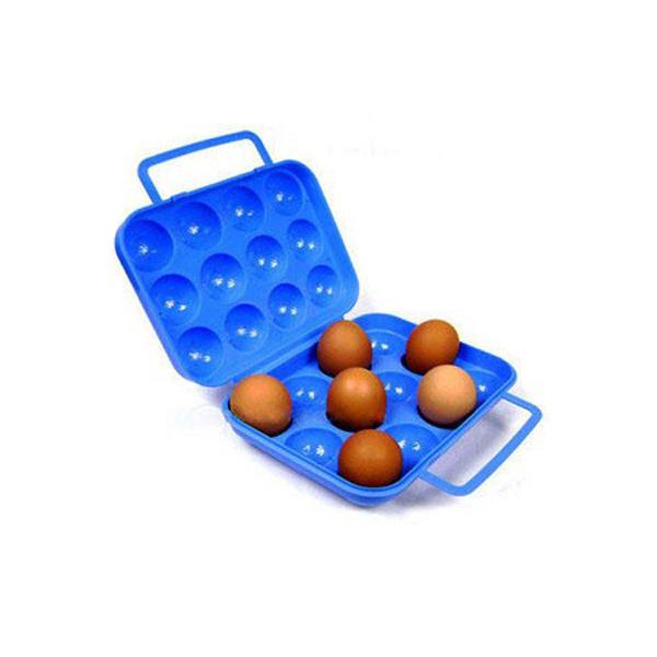 12 Gitre Bærbar Plast Egg Case for Camping Pinic Camping & Udendørs Aktiviteter