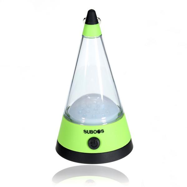 12 LED Trekantet Form Camping Lampe Hang DropLys Desk Lamp Camping & Udendørs Aktiviteter