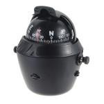 12V LED Licht Sea Marine Drehbare Compass Boots Auto Big BK Outdoor & Wandern