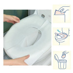 1 Pack 10Pcs Clean Disposable Paper Sanitary Toilet Seat Covers Camping Travel Camping & Hiking
