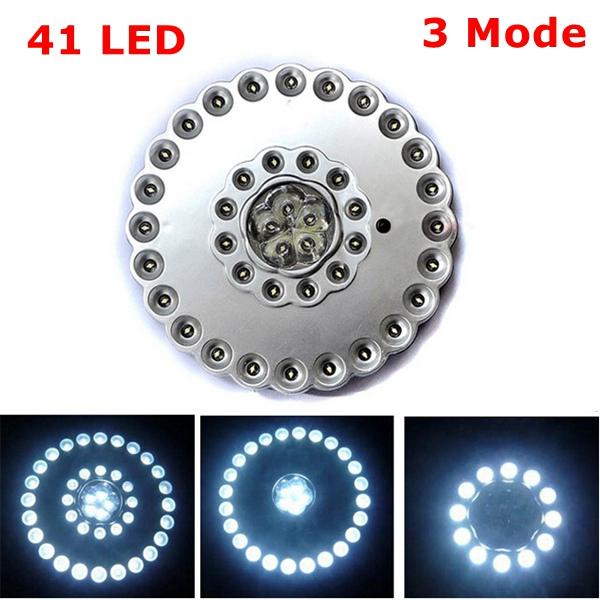 41 LED 3-Tilstand Camping Lampe Portable Power Lagring Telt Lys Lanterne Camping & Udendørs Aktiviteter
