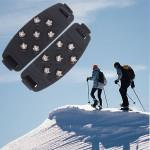 7-Stud Klatring Ice Sko Cover Spike Klamper Klatrejern Gripper Camping & Udendørs Aktiviteter