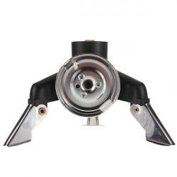 Adaptor Dyse Gasflaske Screwgate Isobutan Fuel Stove Gear Værktøj