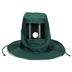 Anti Dust Wind Mask Sprængning Hood Sand Slibende Sandblaster Beskyttende