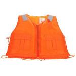 Opdrift Foam Life Jakke Vest med Fløjte Orange Camping & Udendørs Aktiviteter
