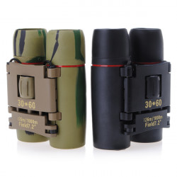 Free shipping/Sakura 30*60 Mini/Fold Binoculars