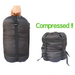 Letvægts Udendørs Camping Sleeping Compression Stuff Sack Bag
