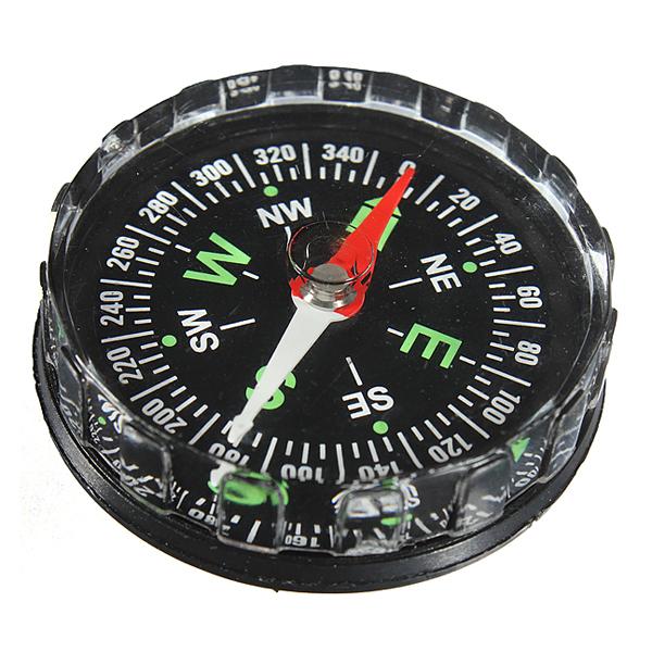 Mini Pocket Flytande Kompass Överlevnad Navigeringsverktyg Camping & Friluftsliv