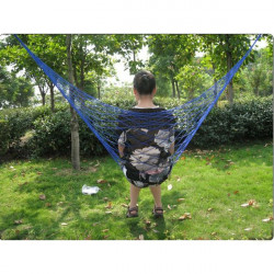 Multi-color Outdoor Camping Traveling Nylon Net Hammock Sleeping Bed